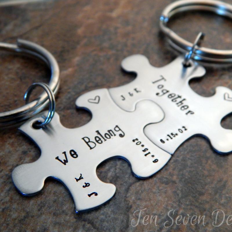 KEYRING Cavalier King Charles Spaniel Dog Tag UK Disc Personalised Engraving