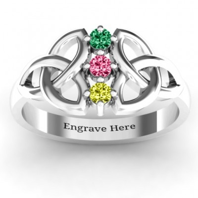 Sláine Celtic Knot Ring - By The Name Necklace;