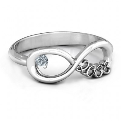 2008 Infinity Ring - By The Name Necklace;