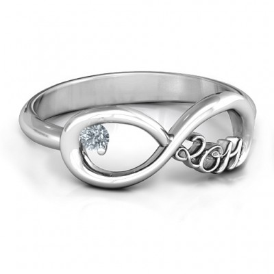 2011 Infinity Ring - By The Name Necklace;