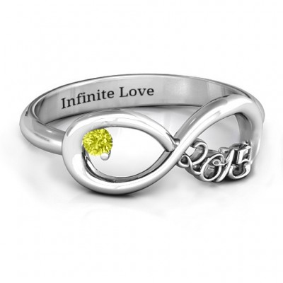 2015 Infinity Ring - By The Name Necklace;
