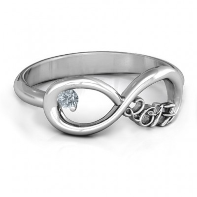 2017 Infinity Ring - By The Name Necklace;