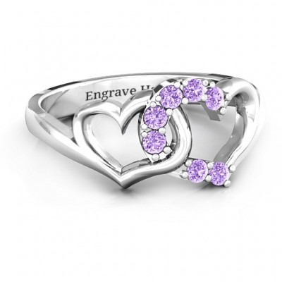 Connecting Hearts Ring - By The Name Necklace;