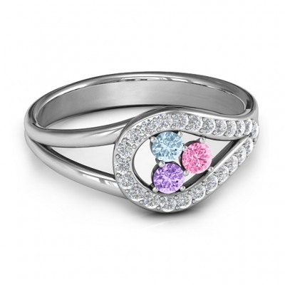 Illuminating Accents Ring - By The Name Necklace;