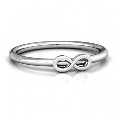 Infinity Stackr Ring - By The Name Necklace;