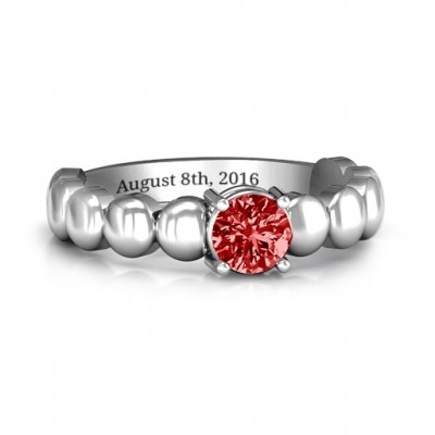 Love Story Promise Ring - By The Name Necklace;