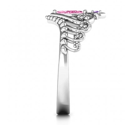 Once Upon A Time Tiara Ring - By The Name Necklace;