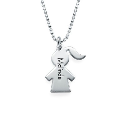 Unique Gift for Mum - Mother Daughter Necklace Set - By The Name Necklace;