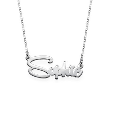 Say My Name Personalised Necklace - By The Name Necklace;