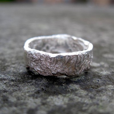 Rocky Outcrop Ring - By The Name Necklace;