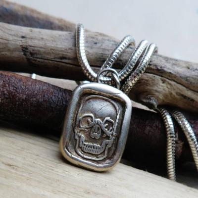 Dia De Los Muertos Pendant - By The Name Necklace;