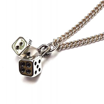Lucky Dice Necklace - By The Name Necklace;