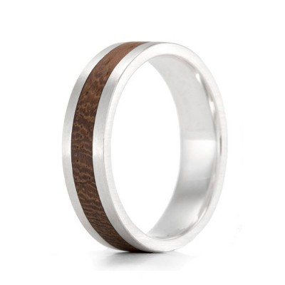 Wood Ring Native Komfort - By The Name Necklace;
